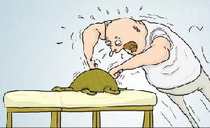 эрекция во время массажа